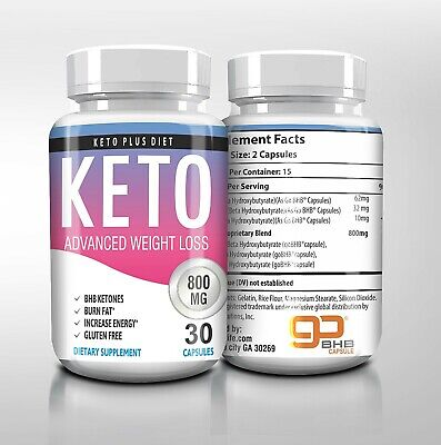 $10.99 • Buy Keto Burn Diet Pills,  Metabolic Ketosis Booster Weight Loss ENERGY & FOCUS