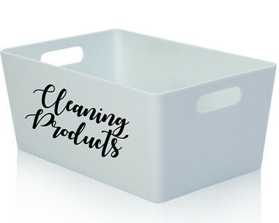 £1.75 • Buy Household Vinyl Stickers, Labels, Decals For Storage Box, House, Like Mrs Hinch