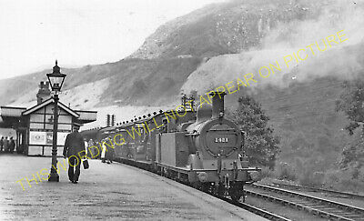 Miller's Dale Railway Station Photo. Peak Forest -Monsal Dale. Chinley Line (27) • 3.50£