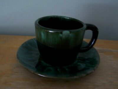 $ CDN14.99 • Buy Vintage Blue Mountain Pottery Cup And Saucer With Original Label