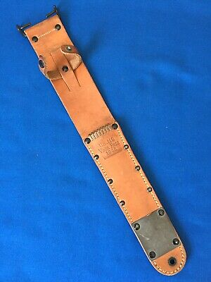 $ CDN1485.40 • Buy Rare Original WWII US M6 Viner Bros 1943 Sheath Scabbard M3 Fighting Knife Mint