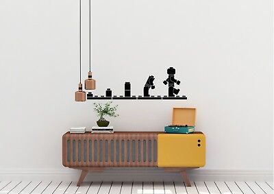 Evolution Of Lego Inspired Design Home Childrens Wall Art Decal Vinyl Sticker • 4.98£