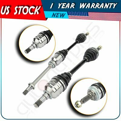 $118.95 • Buy For Toyota Camry 93-97 99 00 01/ Solara 2.2L 2pc Front Left Right CV Axle Shaft