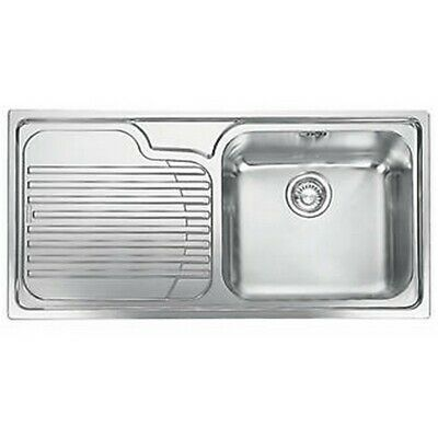 Franke Galassia Inset Kitchen Sink Stainless Steel 1 Bowl 1000 X 500mm • 119.99£