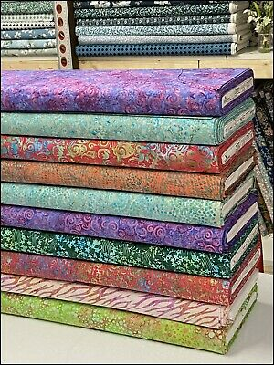 *brand New* - Batik Fabric For Quilting And Crafts- 100% Cotton Assorted Designs • 2.95£