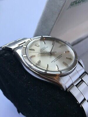 $ CDN2996 • Buy Rolex Oyster Perpetual Ref. 1007 Engine Turned - 1966 Just Serviced