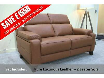 £1429 • Buy Parker Knoll Evolution 1701 Brand New! Pure Luxurious Leather – 2 Seater Sofa