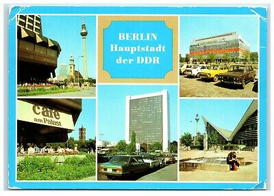 Postcard Berlin Capital Of DDR Germany Posted 1984 (3-J) • 2.85£