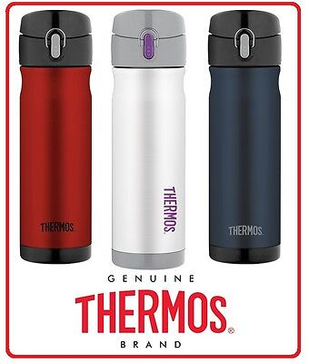 AU32.85 • Buy ❤ Thermos STAINLESS STEEL VACUUM Insulated Travel Mug Commuter Bottle 470ml ❤