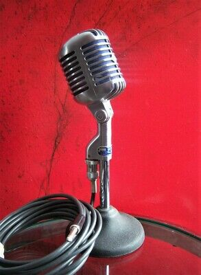 Vintage 1954 Shure 55 S Dynamic Cardioid Microphone Old Elvis W Accessories # 2 • 254.25£
