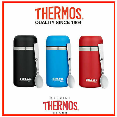 AU28.80 • Buy Thermos STAINLESS STEEL Vacuum Insulated Food Jar Container 500ml Spoon DURAVAC