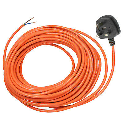 Power Cable For Flymo Hover Stripe RXE300 Lawnmower Extra Long Lead 12 Metre • 13.29£