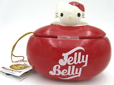 Jelly Belly Hello Kitty Jelly Bean-shaped Candy Dish Jar • 7.68£