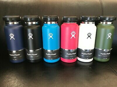 $34.95 • Buy Hydro Flask Wide Mouth 32oz Flex Cap Steel Canteen Water Bottle NEW CHOOSE COLOR