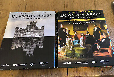 Downtown Abbey FYC DVD 8th Final Season 3-discs For Your Consideration • 28.94£