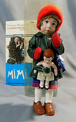 """$40 • Buy Norman Rockwell Character Doll MIMI Collector's Edition 9.5"""""""