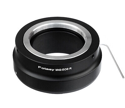 $11.75 • Buy Adjustable M42 42mm Screw Mount Lens To Canon EOS R RP R5 R6 RA Camera Adapter