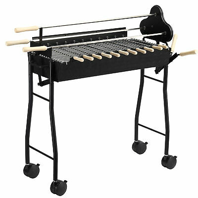 $ CDN237.85 • Buy Outsunny Garden Outdoor Charcoal Trolley BBQ Barbecue Cooking Grill Powder Wheel