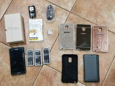 $ CDN112.82 • Buy Samsung Note Edge 32GB Charcoal Black Sprint Good Condition + A Lot Of Extras.