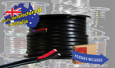 AU39.50 • Buy  High Quality Automotive Twin Sheathed Cable  6mm  10m Coil   4.59mmsq  V90HT
