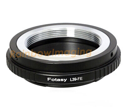 $7.35 • Buy Adjustable Leica M39 Lens To Sony FE Mount  Adapter A7 A7R A7S A9  II III IV
