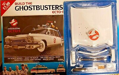 Build The Ghostbusters Ecto-1 Scale 1:18 = 80cm Long # 1 • 6.99£