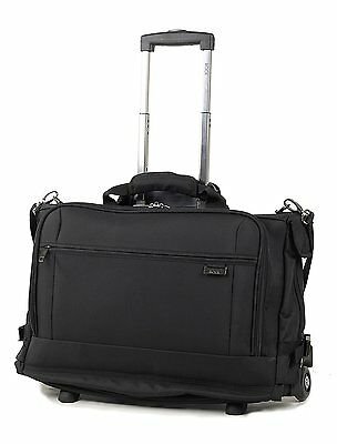 Deluxe Wheeled Laptop Tri-fold Garment Suit Cabin Trolley Bag Carrier On Wheels • 109.97£