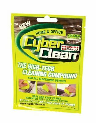 $28.50 • Buy LOT For 5 Pc New Cyber Clean Home And Office Zip Bag 80g Formula Gel