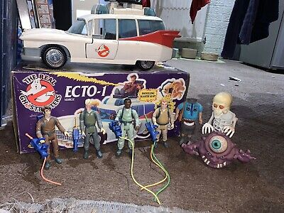 Vintage Kenner Ghostbusters Ecto 1 With Original Box • 51£