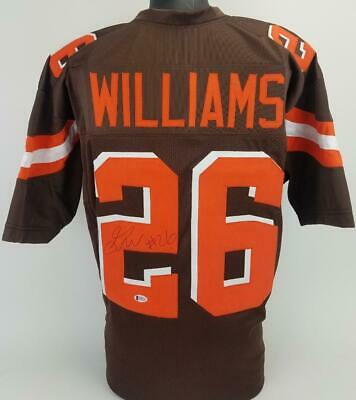 $ CDN39.76 • Buy Greedy Williams Signed Autographed Jersey TSE Coa Cleveland Browns Football Brw