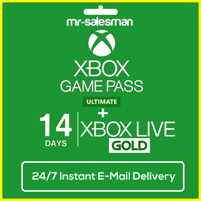 $2.99 • Buy Xbox Game Pass Ultimate 14 Days + XBOX LIVE  GOLD - Xbox One - Instant Delivery