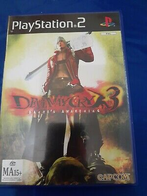 AU10 • Buy Devil May Cry 3 Dante's Awakening PlayStation 2 PS2 Game Complete With Manual