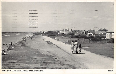 R277040 Cliff Path And Bungalows. East Wittering. No. 18209. Salmon • 6.75£
