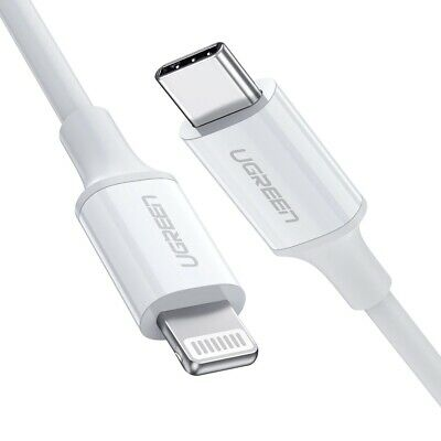 AU29.97 • Buy Ugreen 0.5M USB-C To Lightning Cable For IPhone 11 Pro Max X XS IPad Pro Macbook