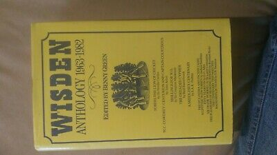 £3.99 • Buy Wisden Anthology 1963-1982 ( Free Delivery In North London )