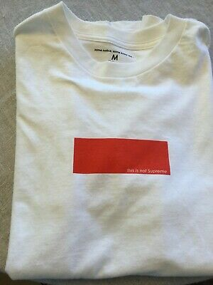 $ CDN45 • Buy Men's Some Notice, Some Know This This Is Not Supreme  Tshirt Size Medium