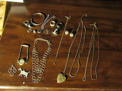 $ CDN33.14 • Buy Mixed Jewelry Lot Sterling Silver And Gold Filled Jewelry +
