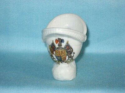 Austrian China WW1 Prussian Helmet - THE ROYAL ARMS Decoration • 4.99£