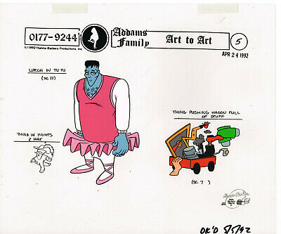 $ CDN66.18 • Buy ADDAMS FAMILY Animation Production Model Cel ~A02~ LURCH