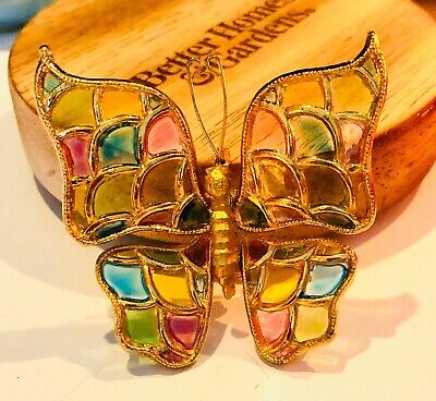 $ CDN5.29 • Buy Lovely Lot Of 3 Designer Inspired Butterfly Pins ~ Costume Jewelry