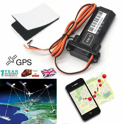 Mini Realtime Vehicle Car GPS Tracker Spy Mini Personal Tracking Device GPRS UK • 17.88£