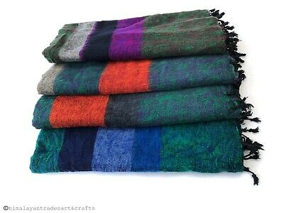 Wool Shawl Soft Shawl Warm Wrap/ Handwoven Yak Wool Shawl/ Winter Shawl Wrap • 19.99£