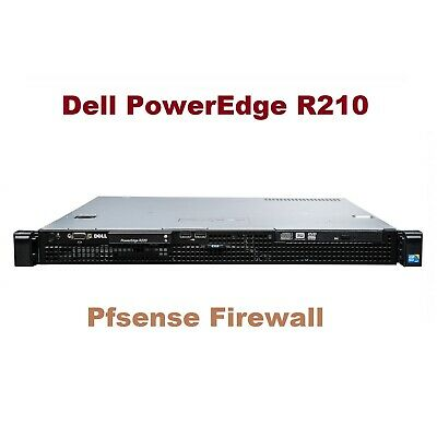PFSense Firewall Router Server - 8x 3.40Ghz 16GB Ram 6x Gigabit 120GB SSD Raid 1 • 324£
