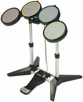£133.84 • Buy NEW PS3 Rock Band 1 Wired Drum Kit RockBand Drums Set PlayStation 3 RARE