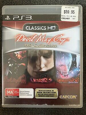 AU16.95 • Buy DMC Devil May Cry HD Collection - PlayStation 3 PS3 - Complete