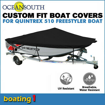 AU342.27 • Buy Oceansouth Trailerable Custom Boat Cover For Quintrex 510 Freestyler