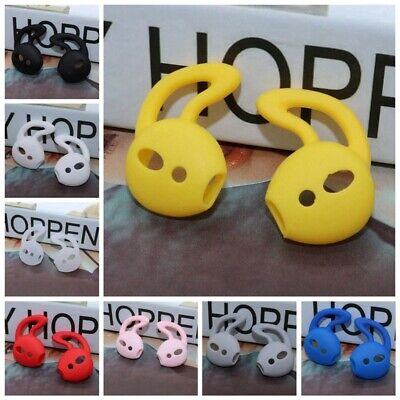 $ CDN1.37 • Buy 3 Pairs Anti Slip Silicone Ear Hooks Covers For Apple AirPod AirPods Dsk