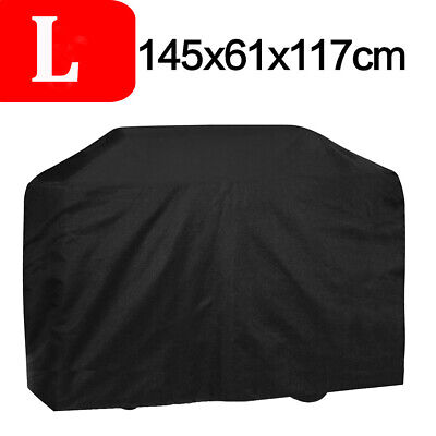 AU21.84 • Buy BBQ Cover 4 Burner Waterproof Outdoor Gas Charcoal Barbecue Grill UV Protection