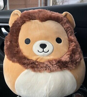 "$ CDN28.46 • Buy NWT Squishmallows Kellytoy 12"" Francis Lion Brown Tan Plush Doll Pillow"