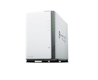 AU317.65 • Buy NEW SYNOLOGY DS218J NAS: 2BAYS DISKSTATION MARVELL DUAL CORE 1.3 GHZ 512MB D.f.